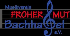 """Musikverein """"Froher Mut"""" Bachhagel e.V."""